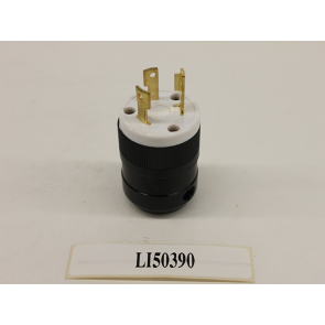 35610 Male Connector 120-240v 3 Pins (6500w-8000w-AXQ1-200A)